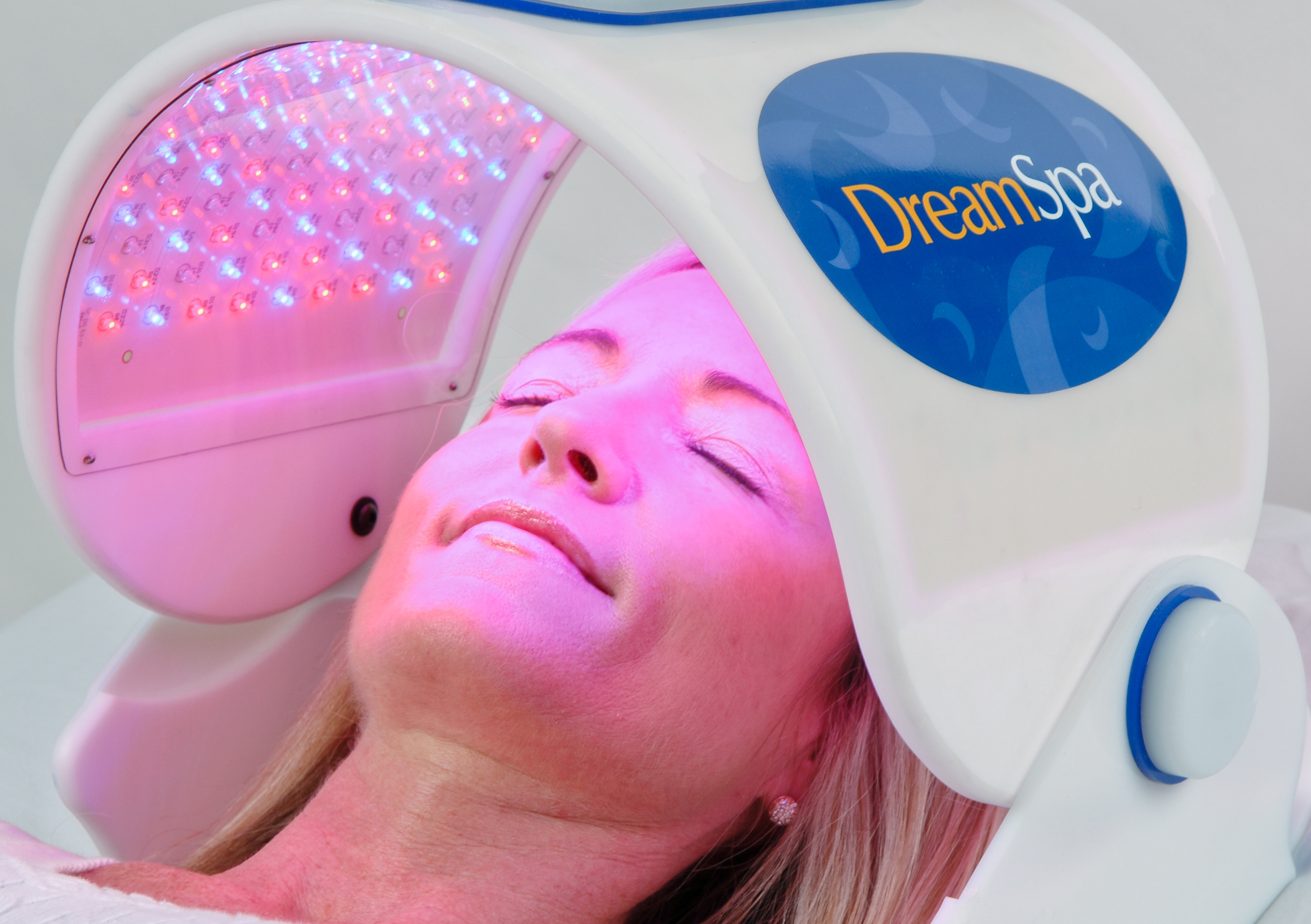 an image of Red Light, Blue Light, Near-Infrared Light Therapy